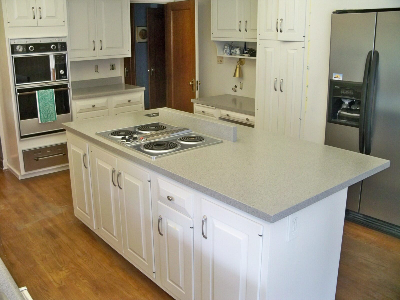 island countertop counter top granite adventures christinas leathered installation tops